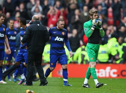 Rooney & De Gea v Sunderland