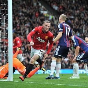 Rooney v Stoke at OT 2012
