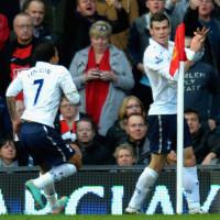 Bale scores v United at OT 2012