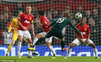 Modric goal for Madrid March 2013