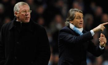 Roberto Mancini Alex Ferguson