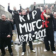 Glazer Protest RIP MUFC