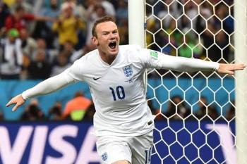 Wayne Rooney V URU goal