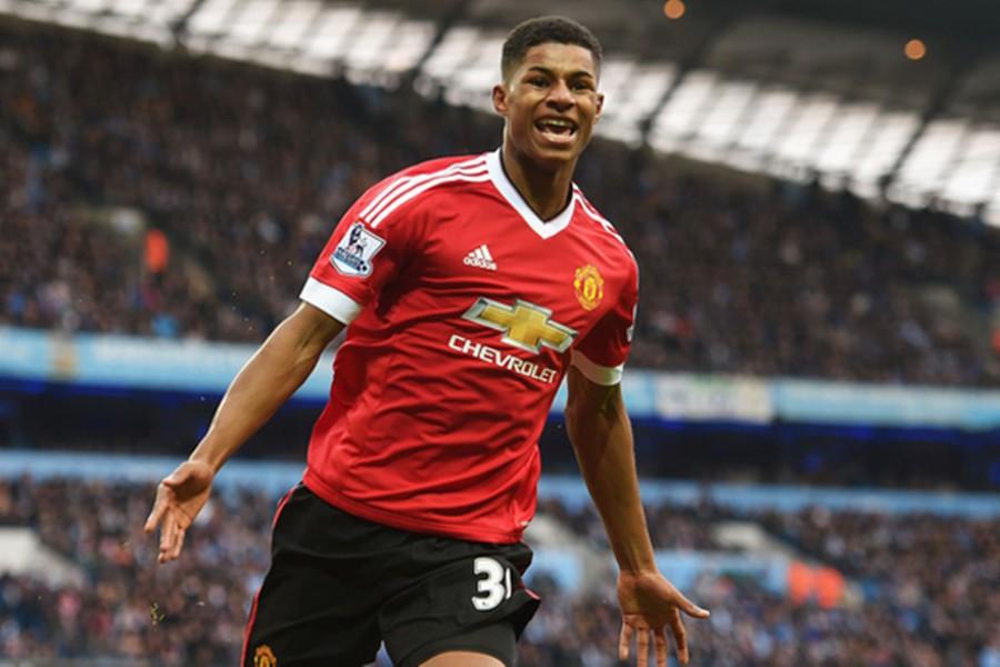 Could Rashford displace Rooney?